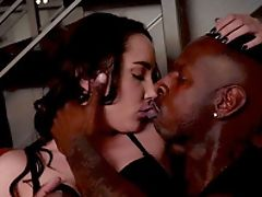 Ass, Big Black Cock, Big Natural Tits, Blowjob, Brunette, Couple, Cowgirl, Cunt, Doggystyle, Fingering,
