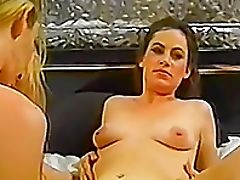 Ass, Bedroom, Big Natural Tits, Fingering, Lesbian, Licking, Long Hair, Natural Tits, Pussy, Seduction,