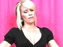 Big Tits, Blonde, Femdom, POV, Punishment, Sissy,