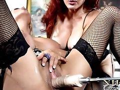 Lesbian, Mature, Nikita Von James, Pornstar, Pussy, Sexy Vanessa,