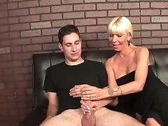 Big Cock, Big Tits, Blonde, Dick, Handjob, MILF,