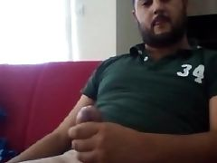 Bear, Big Cock, Hunk, Jerking, Masturbation, Mature, Turkish,