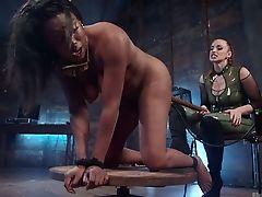 Anal Sex, Ass, BDSM, Big Tits, Black, Bondage, Boots, Dildo, Electrified, Femdom,