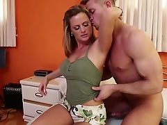 American, Becca Blossoms, Bedroom, Big Tits, Blonde, Blowjob, Bold, Daddies, Fingering, Hardcore,