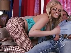 Alexis Texas, American, Ass, Blonde, Couch, Licking, Lingerie, Pantyhose, Pornstar, Rimming,