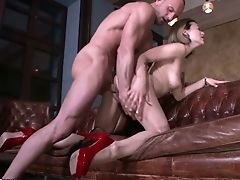 Anal Sex, Ass Fucking, Ass Licking, Big Cock, Big Tits, Blonde, Blowjob, Couple, Cowgirl, Cumshot,