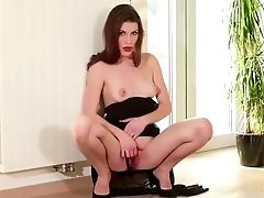 Blowjob, Brunette, Hardcore, HD, Long Legs,