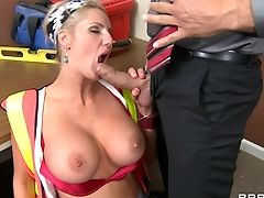 Big Tits, Blonde, Blowjob, Cougar, Cum In Mouth, Cumshot, Doggystyle, Fucking, Hardcore, Holiday,