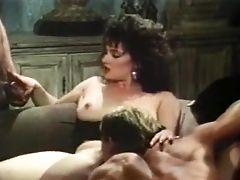 Cunnilingus, Erotic, Hairy, Lingerie, Stockings, Swedish, Taija Rae, Threesome, Vintage,