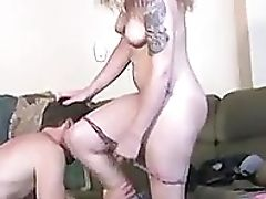 69, Babe, Big Natural Tits, Blonde, Blowjob, Couch, Couple, Cunt, Doggystyle, Hardcore,