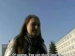 Amateur, Blonde, Blowjob, College, Czech, POV, Reality,