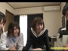 Cute, Facesitting, Gangbang, Japanese, Jav, Riding, Schoolgirl, Teen, Uniform,