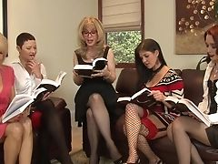 Anal Sex, Blonde, Brunette, Foreplay, Granny, Group Sex, HD, Lesbian, Mature, Moaning,