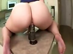 Amateur, Babe, Black, Dildo, Huge Dildo, Interracial, Masturbation, Pawg,