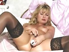 Blonde, Britanniques, Masturbation, Milfs  , Collants ,