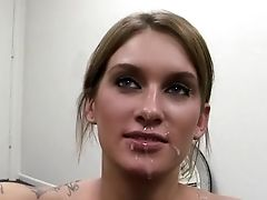 Amateur, Audition, Babe, Beauty, Blonde, Bukkake, Casting, Cumshot, Cute, Facial,