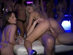 Babe, Chloe, Club, Dancing, Esmi Lee, Group Sex, Money, Orgy, Party, Sexy,