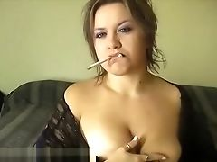 Amateur, Brunette, Cigarette, Classic, Fetish, Kinky, MILF, Retro, Smoking, Vintage,