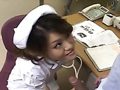 Blowjob, Close Up, Japanese, Nurse,