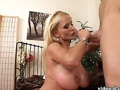 Big Ass, Big Tits, Blonde, Cumshot, Licking, MILF, Sharon Pink,