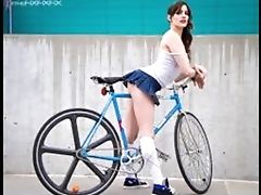 Babe, Bicycle, HD, Music, Outdoor, Softcore,