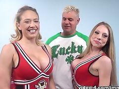Amazing, Big Ass, Big Tits, Blonde, Cunnilingus, Dildo, Kagney Linn Karter, Pornstar, Sex Toys, Shawna Lenee,