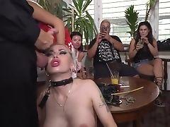 Anal Sex, BDSM, Big Tits, Blonde, Fetish, Fisting, Isabella Clark, Pornstar, Public, Sex Toys,