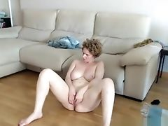Adorable, Big Tits, Brunette, Homemade, Masturbation, MILF, Solo, Webcam,