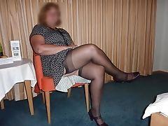 Granny, HD, High Heels, Legs, Mature, MILF, Nylon, Pantyhose, Stockings, Teen,