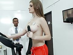Babe, Big Cock, Clinic, Clothed Sex, Cute, Desk, Doctor, Faye Reagan, Ginger, Hospital,