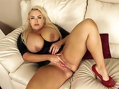 Ass, BBW, Beauty, Big Tits, Blonde, Boots, Curvy, Cute, Dildo, Jerking,