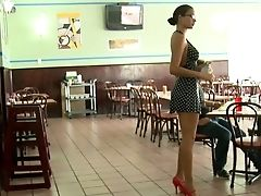 Amateur, Cute, Dress, Legs, Long Legs, Money, Reality, Tall, White, Young,
