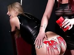 Ass, Blonde, Bondage, Cute, Fetish, Latex, Lesbian, Nude, Pain, Perverted,
