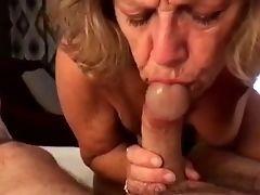 Amateur, American, Big Cock, Blonde, Blowjob, Dick, Felching, Granny, MILF,