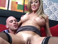 Big Tits, Blonde, Brandi Love, Clinic, Condom, Insertion, MILF, Pussy,