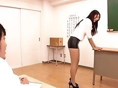 Big Tits, Blowjob, College, Hairy, HD, Japanese, MILF, Teacher, Uniform,