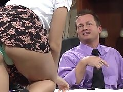 Ass, Chastity Lynne, Couple, Desk, Hardcore, Office, Pornstar,