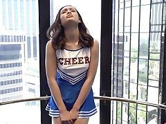 Cheerleader, Friend, Latina, Long Hair, Pussy, Teen, Uniform, Wet, Wild,