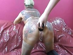 Butt Plug, Mature, Mature Anal, Squirting,