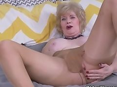 American, GILF, Granny, HD, Horny, Mature, MILF, Old, Pantyhose,