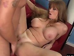 Big Tits, Bobcat, Brunette, Cougar, Fake Tits, Hardcore, MILF, Pornstar, Titjob,