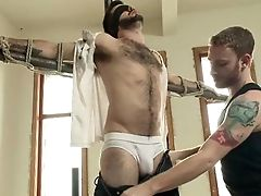 BDSM, Blindfold, Bondage, Boy, Huge Cock, Kinky, Rough, Submissive,