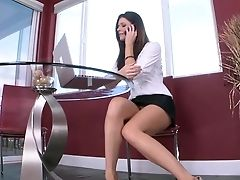 Babe, Blowjob, Brunette, Cute, Daughter, Dick, Felching, FFM, India Summer, Long Legs,