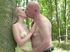Amateur, Ball Licking, Blonde, Blowjob, Cum In Mouth, Cumshot, Dick, Foreplay, Forest, Moaning,