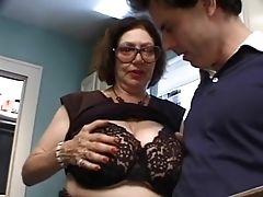 Babe, Big Cock, Big Tits, Granny, Mature,