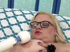 BBW, Blonde, Naughty, Pussy, Sex Toys, Teasing,