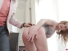 Ass, Blonde, Blowjob, Couple, Cute, Doggystyle, Friend, Fucking, Hardcore, Lingerie,