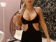 Babe, Big Ass, Big Tits, Blonde, HD, Masturbation, Solo, Teen, Webcam,