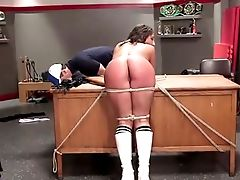 BDSM, Beauty, Bondage, Cute, Horny, Jerking, Office, Slut, Submissive, Torture,