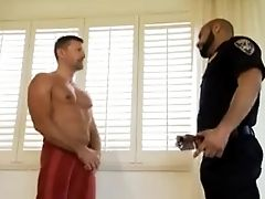 Bathroom, Bear, Big Cock, Hunk, Mature, Uniform,